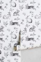 Anthropologie Toile Lapin Wallpaper