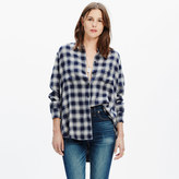 Madewell Oversized Boyshirt in Andover Plaid