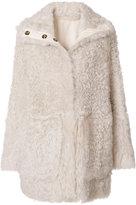 Yves Salomon reversible coat