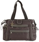 Kalencom Nola Featherweight Quilted Tote Diaper Bag in Asphalt