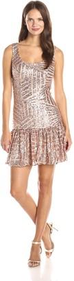 Ark & Co Women's All Over Sequin Dress