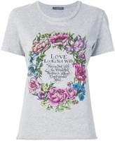Alexander McQueen floral print T-shirt