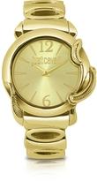 Just Cavalli Eden - Golden Dial Bracelet Watch