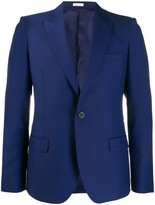 Alexander McQueen Slim-Fit Single-Breasted Blazer