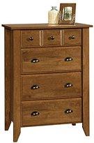 Modern Four Drawer Dresser - Contemporary Elegant Stylish Chest Indoor Furniture Home Living Room Bedroom Storage Additional (Oiled Oak)