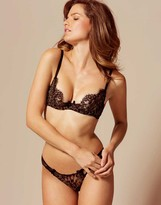 Agent Provocateur Giovanna Bra Black and Gold
