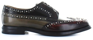 Church's Churchs Three-colored Polished Fume Grafton Met Lace Up
