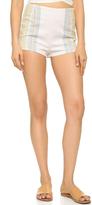 Free People Neuman Stripe Shorts