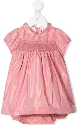 Bonpoint short sleeve flared dress