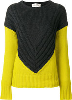 Antonia Zander colour block jumper