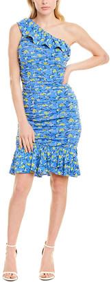 Diane von Furstenberg One-Shoulder Sheath Dress