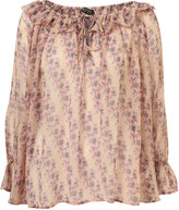 Topshop Ditsy 70'S Blouse