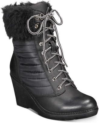 Zigi Ames Wedge Booties Women Shoes