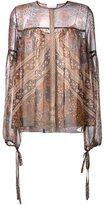 Chloé printed blouse - women - Silk - 36