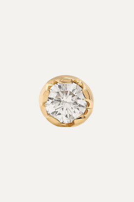 Andrea Fohrman 18-karat Gold Diamond Earring - one size