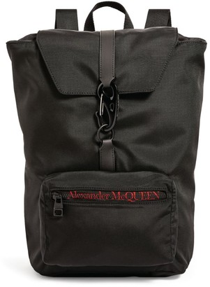 Alexander McQueen Urban Drawstring Logo Backpack