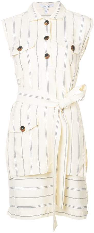 Derek Lam 10 Crosby Sleeveless Utility Dress