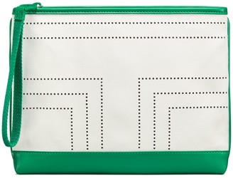 Tory Burch Perforated-T Wristlet