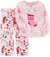 Carter's 2-Pc. Stocking Pajama Set, Little Girls (4-6X) & Big Girls (7-16)