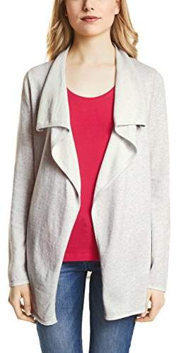 Street One Women's's 252655 Cardigan, (Shiny Grey Melange 11339)