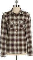 Jessica Simpson Plaid Studded Shirt