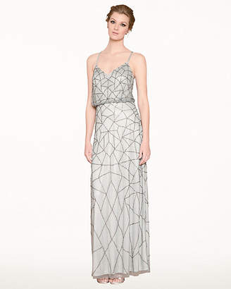Le Château Beaded Tank Top Gown