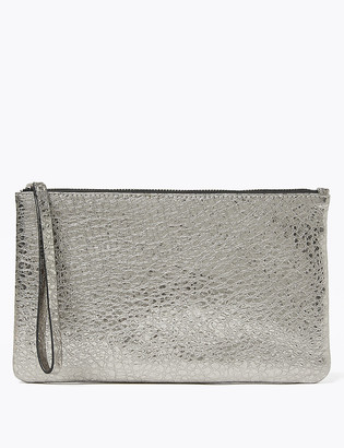 Marks and Spencer Leather Metallic Purse