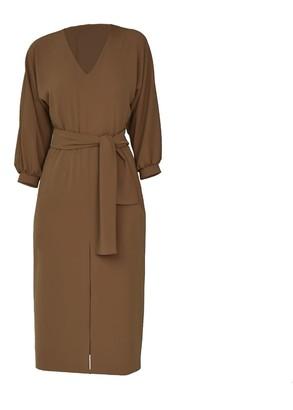 Viela Belted Kimono Dress