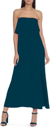 Susana Monaco Strapless High/Low Dress
