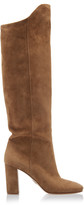 Prada Suede Knee Boots