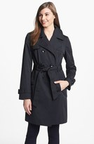 Double Breasted Trench Coat (Regular & Petite)