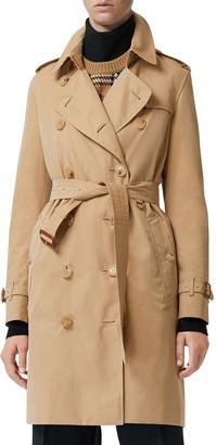 Burberry Kensington Heritage Belted Trench Coat