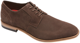 Rockport Birch Lake Plain Toe Suede Oxford Shoes, Chocolate