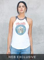 Junk Food Clothing Aerosmith Aero-force One Raglan Tank-ew/jb-m