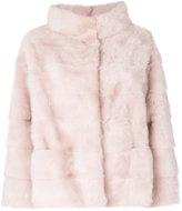 Simonetta Ravizza swing hooded fur jacket - women - Silk/Mink Fur - 42