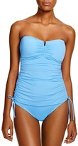 Tommy Bahama Pearl V-Front Bandeau Tankini Top
