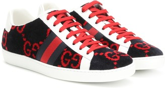 Gucci Ace GG terry cloth sneakers