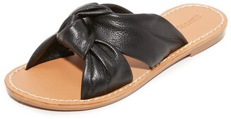 Soludos Women's Knotted Slide Sandals