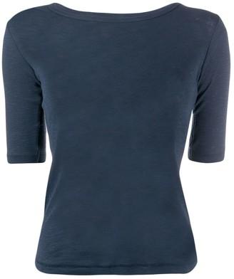 YMC plain fitted T-shirt