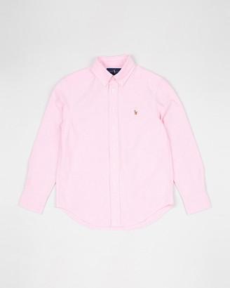 Polo Ralph Lauren Solid Oxford Shirt - Teens