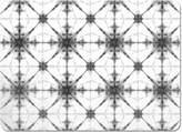 uneekee Kaleidoscope Mono Placemat