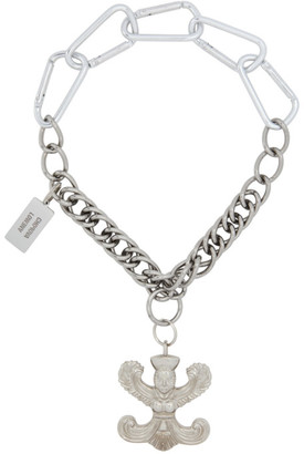 Chopova Lowena Silver Trevalli Necklace