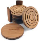 Berghoff Berhoff 7Pc Bamboo Coaster Set