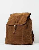 Mng Men's Suede Backpack