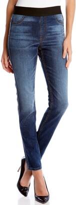 Karen Kane Vintage Wash Stretch Denim Leggings