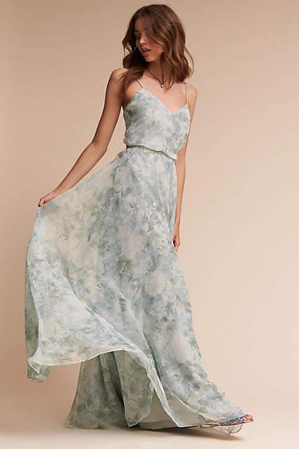 Anthropologie Inesse Wedding Guest Dress
