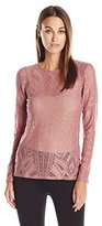 BCBGMAXAZRIA Women's Agda Knit Top