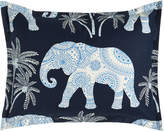 Jane Wilner Designs King Ellie Elephant-Print Sham