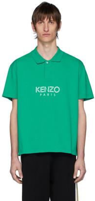 Kenzo Green Paris Polo