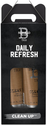 Tigi Bed Head for Men Clean Up Men's Daily Shampoo and Conditioner - Pack of 2 (Worth 20.90)